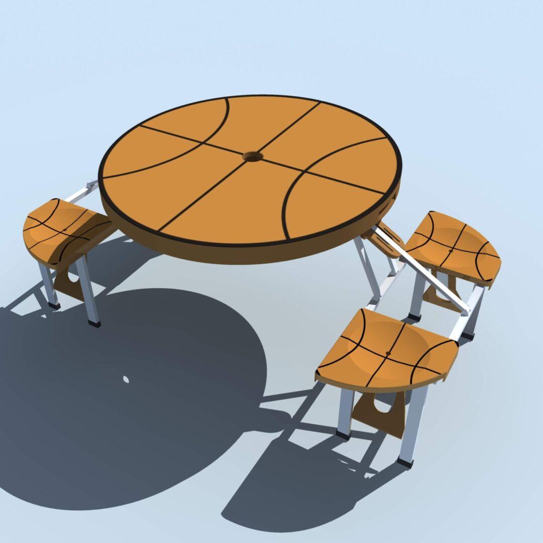 FOLDABLE BASKETBALL TABLE A