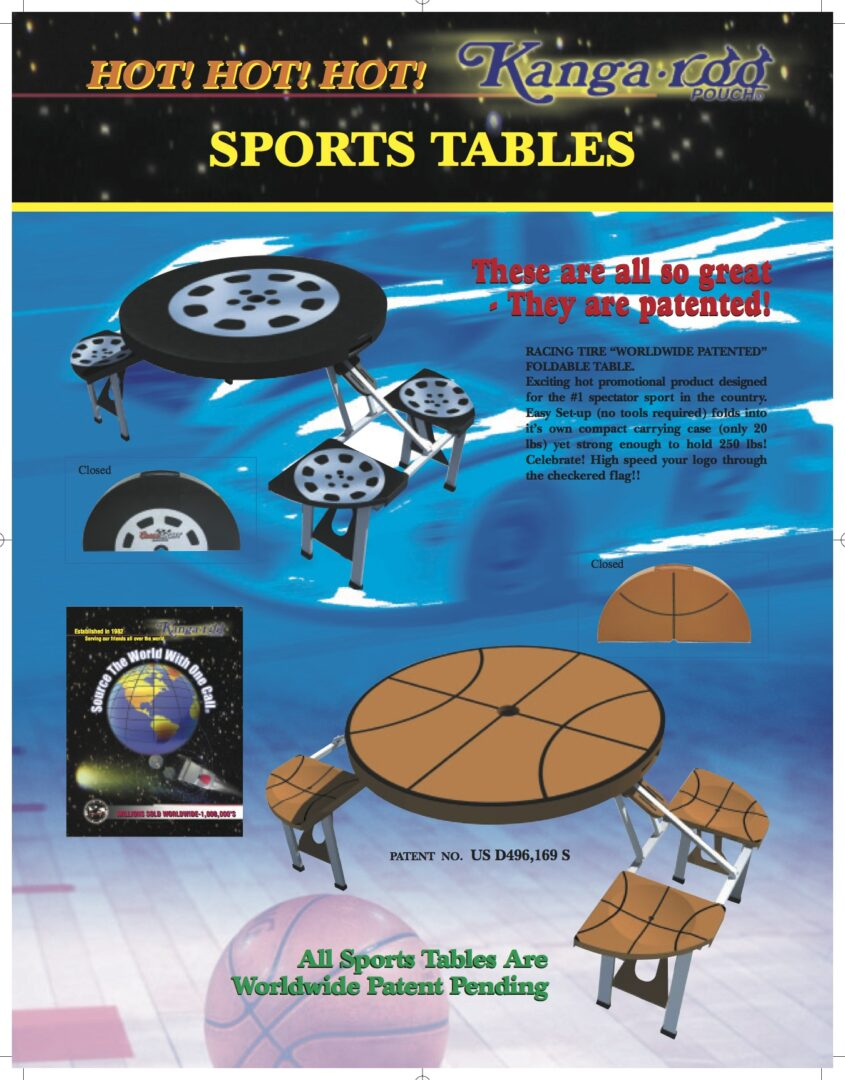 KANGAROO SPORTS TABLES 1