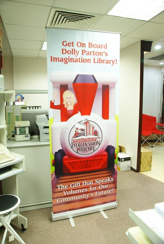 Dolly Retractable Banner